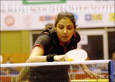 Poulomi Ghatak Poulomi Ghatak Sports Photo Indian Table Tennis player Pou