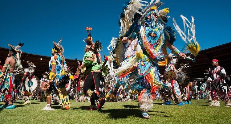 Pow wow Get into the pow wow spirit and try a bannock taco FestivalSeekers