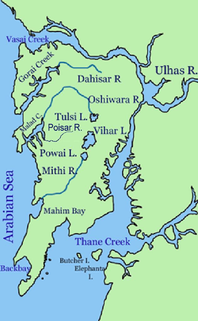 Powai in the past, History of Powai
