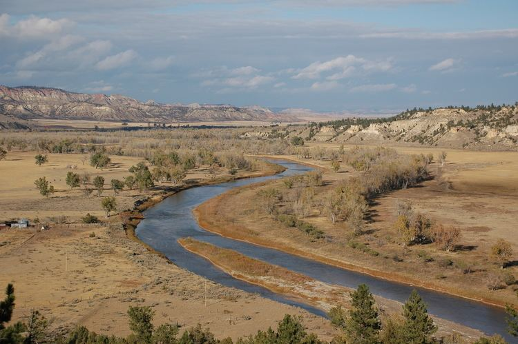 Powder River (Wyoming and Montana) httpswwwbrrcrusgsgovprojectsGEOMORPHPowde
