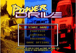 Power Drive (1994 video game) Power Drive
