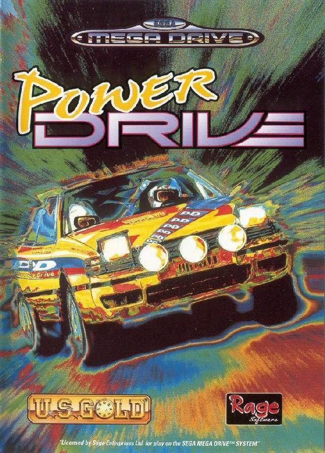 Power Drive (1994 video game) Power Drive Box Shot for Genesis GameFAQs