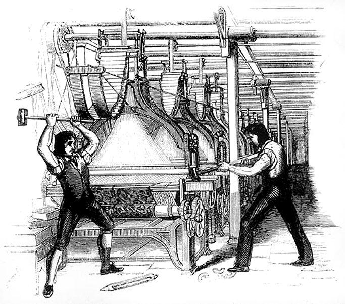 Power-loom riots