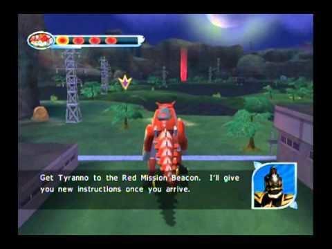 Power Rangers Dino Thunder (video game) Power Rangers Dino Thunder Walkthrough Part 1 GameCube YouTube