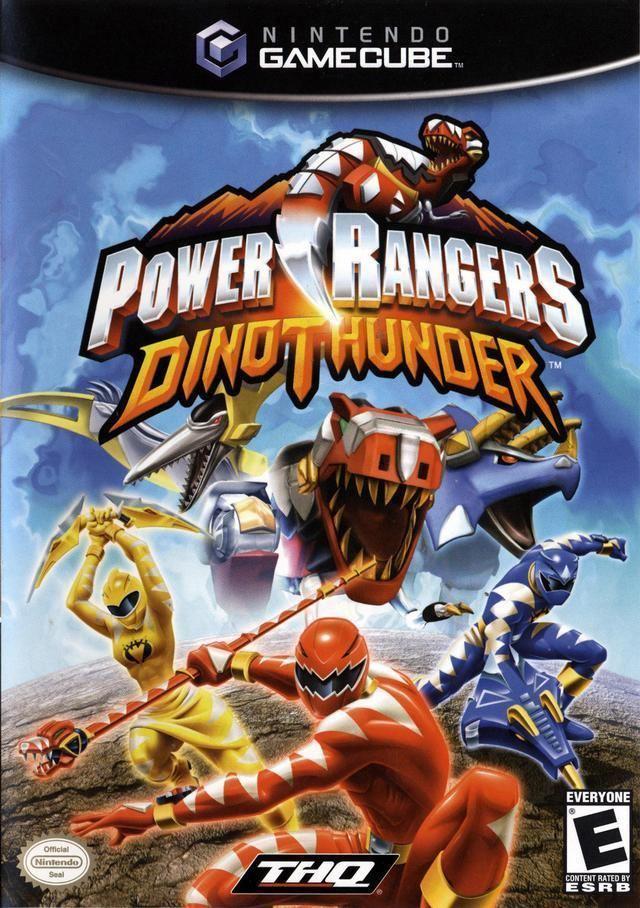 Power Rangers Dino Thunder (video game) Power Rangers Dino Thunder Box Shot for GameCube GameFAQs
