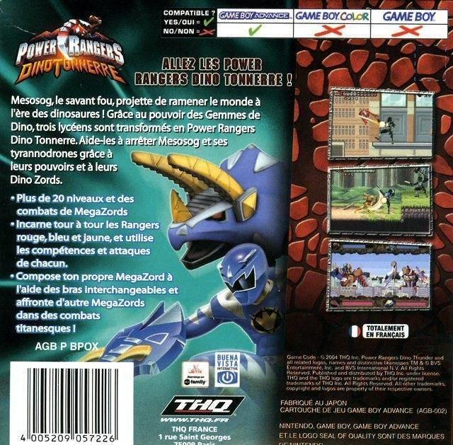 Power Rangers Dino Thunder (video game) httpsgamefaqsakamaizednetbox00660006bac