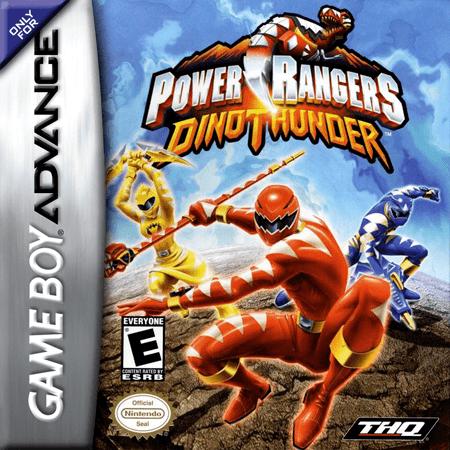 Power Rangers Dino Thunder (video game) Play Power Rangers Dino Thunder Nintendo Game Boy Advance online