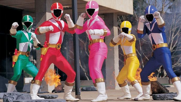 Power Rangers Lightspeed Rescue Power Rangers Lightspeed Rescue The Complete Series Shout Factory