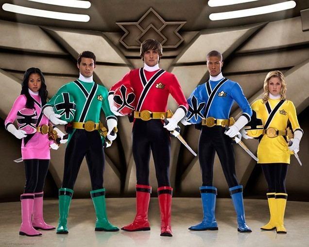 Power Rangers Samurai Snake Eyes vs the core cast of Power Rangers Samurai Battles