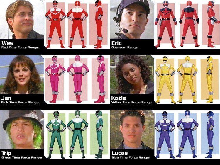 Power Rangers Time Force POWER RANGERS TIME FORCE by mars219 on deviantART We Heart It
