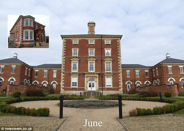 Powick Hospital Christmas calendar featuring Britain39s mental asylums Daily Mail