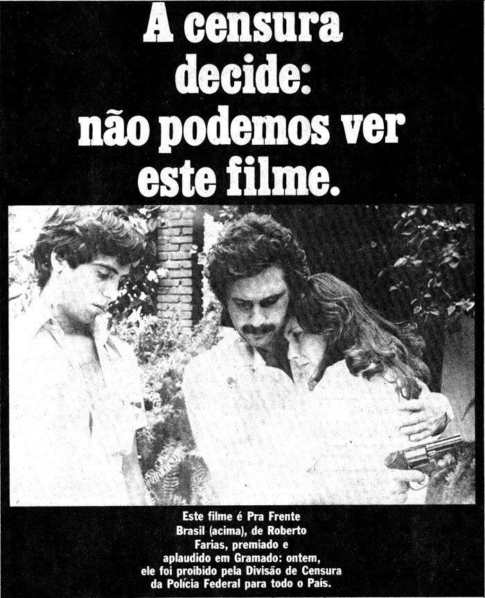 Pra Frente, Brasil Pra frente Brasil a polmica do cinema de 1982