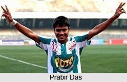 Prabir Das Das Indian Football Player