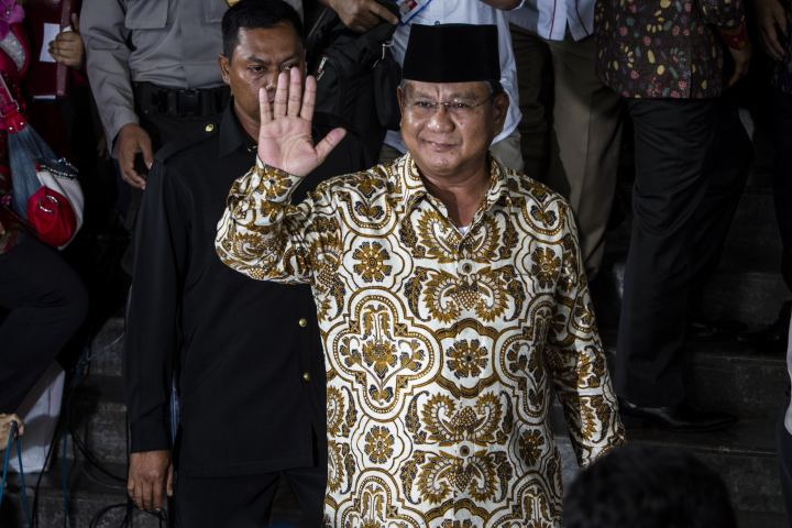 Prabowo Subianto Indonesian Election NaziStyle Campaign Video Stirs Controversy