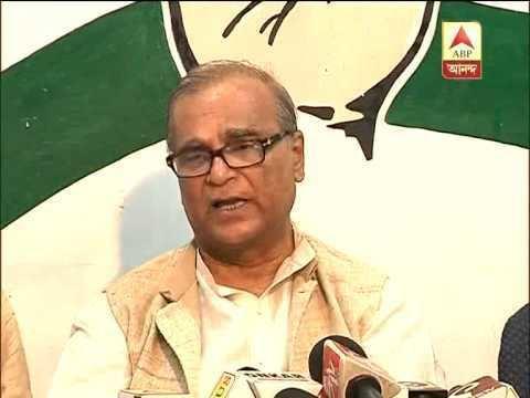 Pradip Bhattacharya Pradip Bhattacharya says Congress likely to skip program to mark 75
