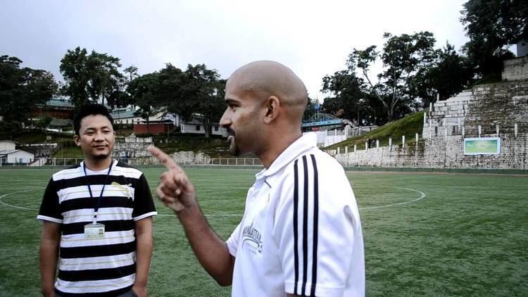 Pradyum Reddy Lammual ah Shillong Lajong FC Coach Pradyum Reddy leh ZoFooty Admin