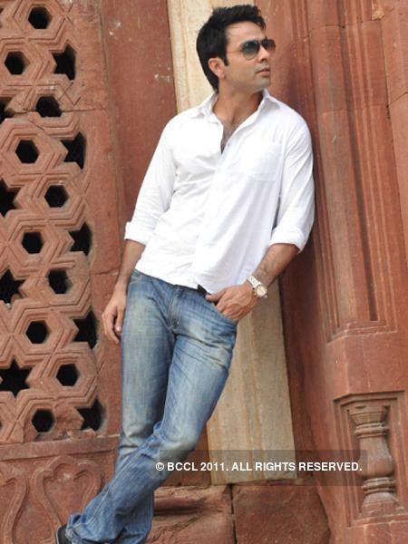 Prashant Ranyal Model turned actor Prashant Ranyal visits Delhi recently