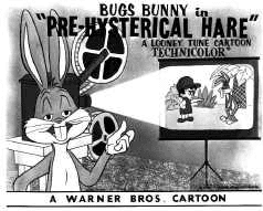 Pre Hysterical Hare movie poster