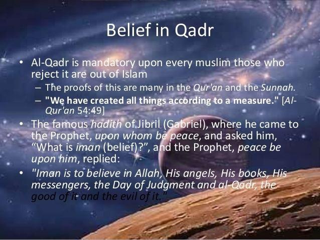 Predestination in Islam httpsimageslidesharecdncomalqadrpredestinat