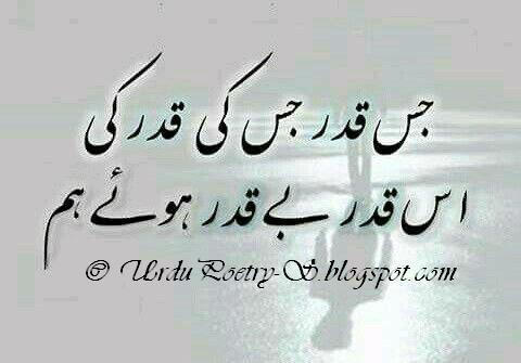 Predestination in Islam BeQadar Huye Hum Urdu Poetry