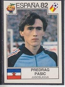 Predrag Pašić Predrag Pasic earned 10 caps for the Yugoslavia national football