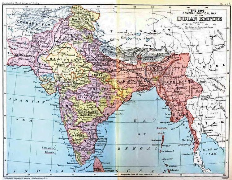 Presidencies and provinces of British India