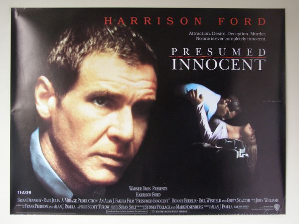Presumed Innocent (film) Presumed Innocent Film Alchetron The Free Social  Encyclopedia