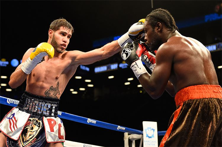 Prichard Colón Prichard Colon vs Terrel Williams replaces DirrellCaparello on 10