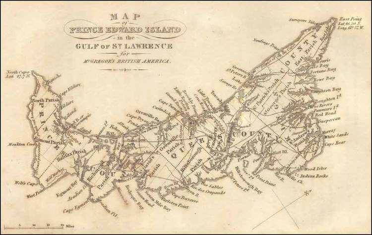 Prince Edward Island in the past, History of Prince Edward Island