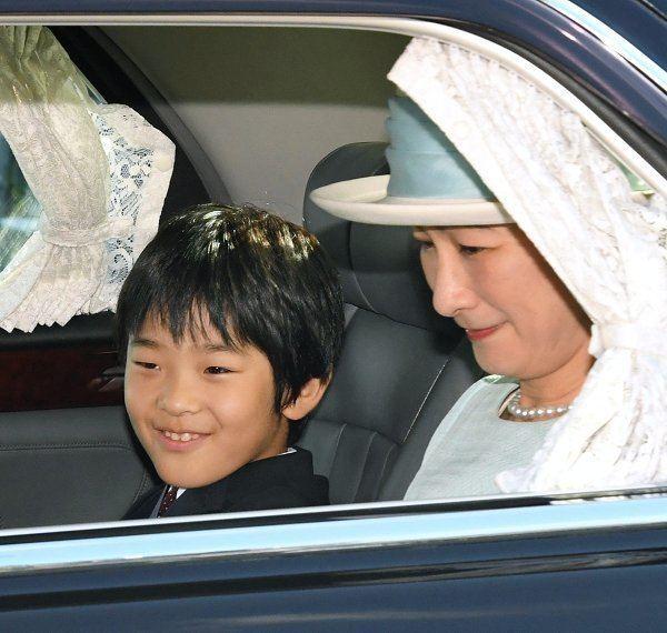 Prince Hisahito of Akishino Prince Hisahito of Akishino celebrates his 10th birthday