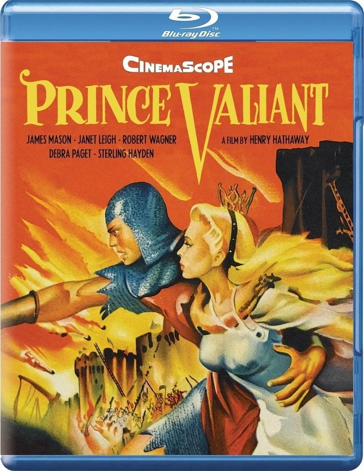 Prince Valiant (1954 film) Prince Valiant Bluray United Kingdom