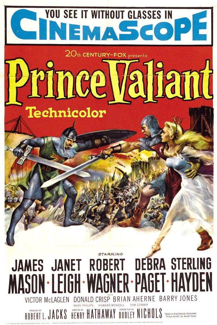 Prince Valiant (1954 film) wwwgstaticcomtvthumbmovieposters6338p6338p