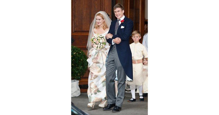 Princess Maria Theresia of Thurn and Taxis (b. 1980) Princess Maria Theresia of Thurn und Taxis 2014 Royal Wedding
