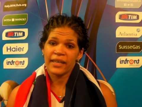 Prisilla Rivera Priscilla Rivera Repubblica Dominicana dopo la vittoria