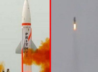 Prithvi (missile) India successfully test fires PrithviII missile from Chandipur