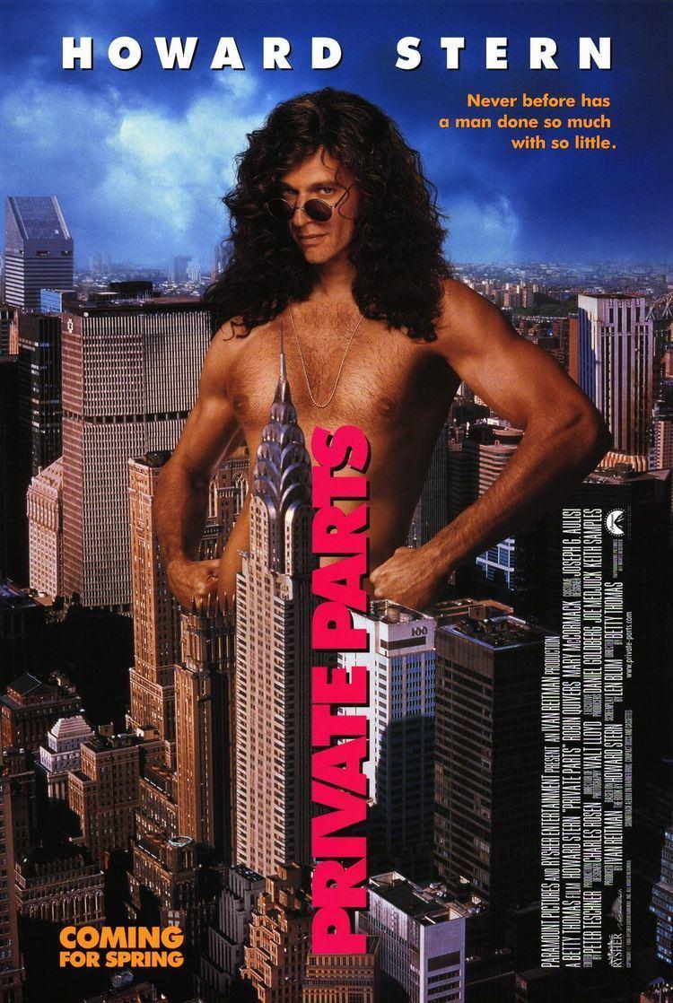 Private Parts (1997 film) Private Parts Movie Poster IMP Awards