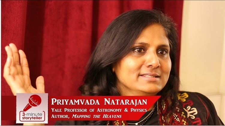 Priyamvada Natarajan PRIYAMVADA NATARAJAN Yale Professor of Astronomy and Physics