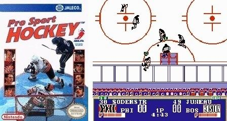 Pro Sport Hockey Retroware TV The Ten Most Valuable NES Sports Games