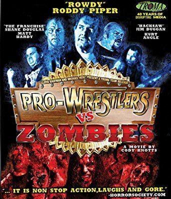Pro Wrestlers vs Zombies Amazoncom ProWrestlers Vs Zombies Bluray Roddy Piper Jim