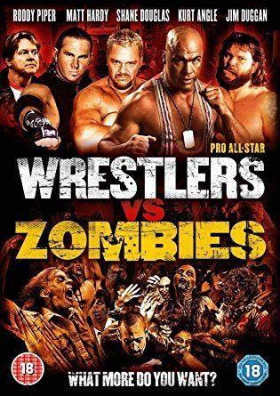 Pro Wrestlers vs Zombies Pro AllStar Wrestlers vs Zombies DVD Amazoncouk Roddy Piper