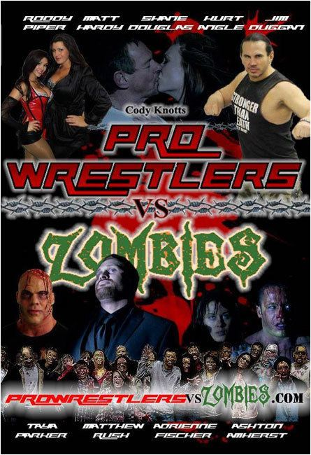 Pro Wrestlers vs Zombies Movie Review Wrestling Legends Suplex the Undead in Pro Wrestlers