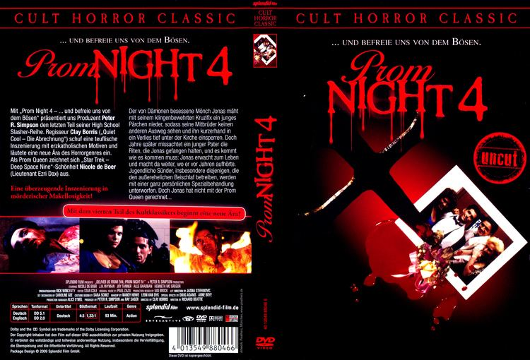 Prom Night IV: Deliver Us from Evil Prom Night 4 Deliver Us from Evil 1992 R2 German