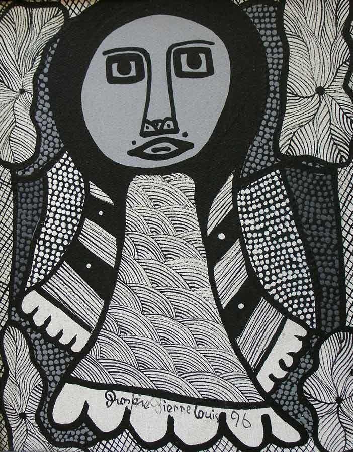 Prosper Pierre-Louis Prospere PierreLouis Haitian OutsiderSaint Soleil Artist