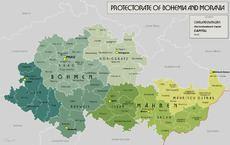 Protectorate of Bohemia and Moravia Protectorate of Bohemia and Moravia Wikipedia
