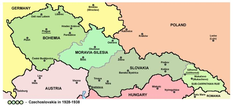 Protectorate of Bohemia and Moravia WWII Letters to Wilma 05 October 1944