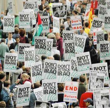Protests against the Iraq War httpspeacemakervoicesfileswordpresscom2010