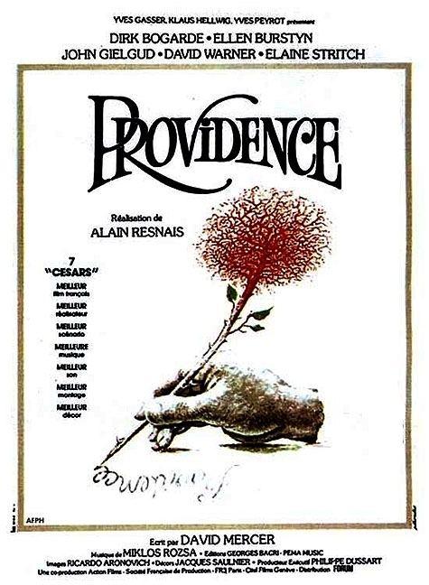 Providence (1977 film) Providence 1977 Alain Resnais John Gielgud Ellen Burstyn Dirk