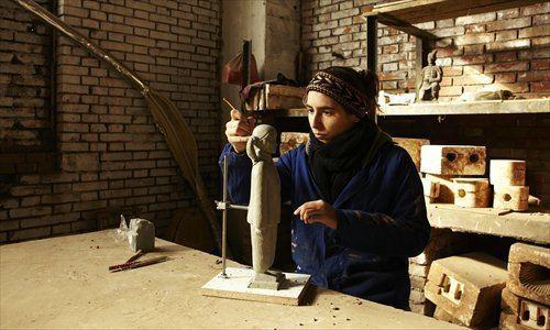 Prune Nourry Terracotta daughters Global Times