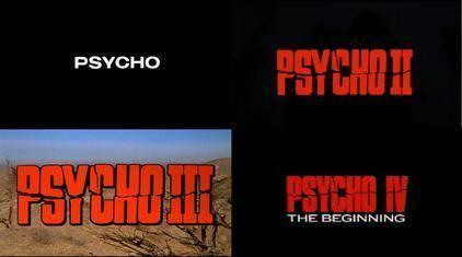 Psycho (franchise) movie poster