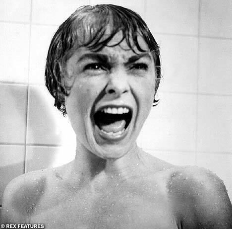 Psycho (franchise) movie scenes Janet Leigh s terrified scream from the shower scene in Psycho was voted the most nail biting movie moment in a new poll